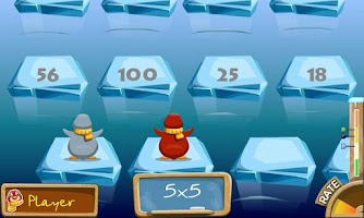 Screenshot of Penguin Jump Math