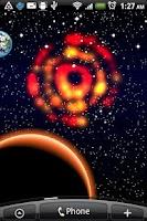 Screenshot of DIY Your Galaxy Live Wallpaper