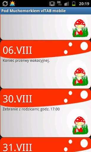 Pod Muchomorkiem viTAB mobile
