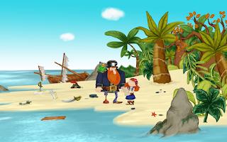 Screenshot of Alizay, pirate girl