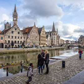 Gand by Pascal Hubert - City,  Street & Park  Historic Districts