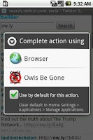 Screenshot of owls be gone