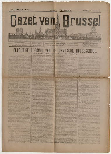 "And this was also why the censors at the beginning of the Occupation tolerated the inclusion of little patriotic references, articles showing respect for the King and Queen… As the Occupation went on, however, the ""emboché"" - German-friendly - Belgian press was to give in more and more to the demands of increasingly tough German censorship"