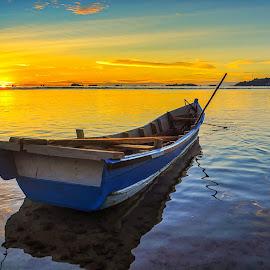 perahu by Rico Sajoo - Landscapes Sunsets & Sunrises