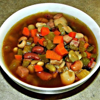 Crock-Pot Ham and Bean Soup