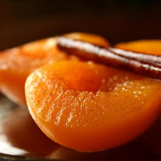 Holiday Spiced Peaches
