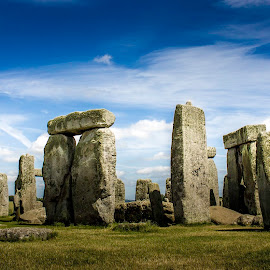 Stonehenge by Chris Barnes - Landscapes Travel ( canon, stonehenge, 550d, wiltshire, landscape )