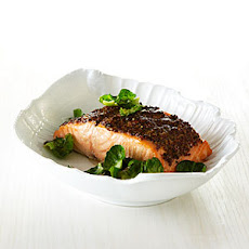 Roast Salmon with Whole-Grain-Mustard Crust