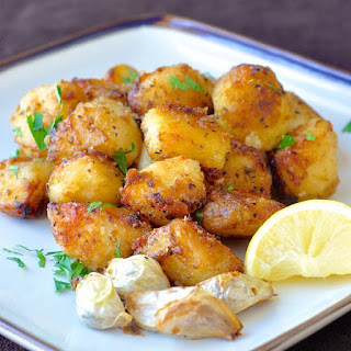 Lemon Herb Roasted Potato Nuggets