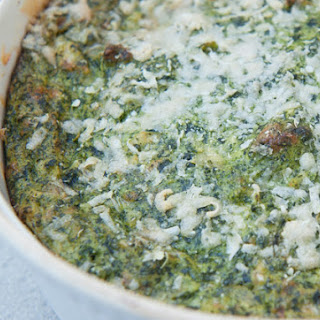 QUICK SPINACH SOUFFLE