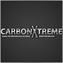 Carbon Fiber Black GO Launcher icon