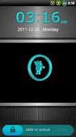 Screenshot of GO Locker Cyanogen Theme