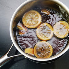 Boiled Coke with Ginger and Lemon