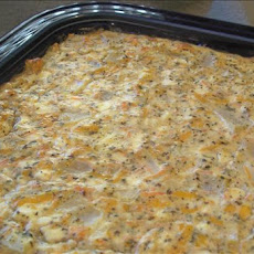 Cheesy Turnip Casserole