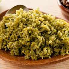 Spicy Green Rice (Arroz Verde) Recipe