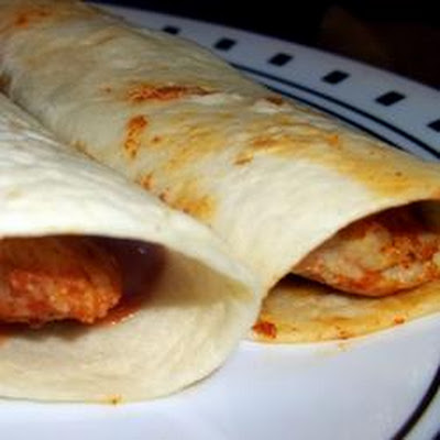 Salt and Spice Pork Wrap