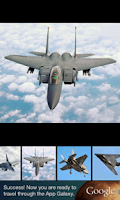 Screenshot of Jet Fighters HD Wallpapers