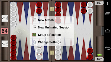 Screenshot of XG Mobile Backgammon