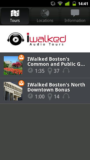 IWalked Boston's Common Public