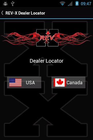 REV-X Dealer Locator