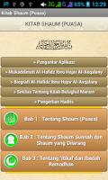 Screenshot of Kitab Puasa (Shaum)