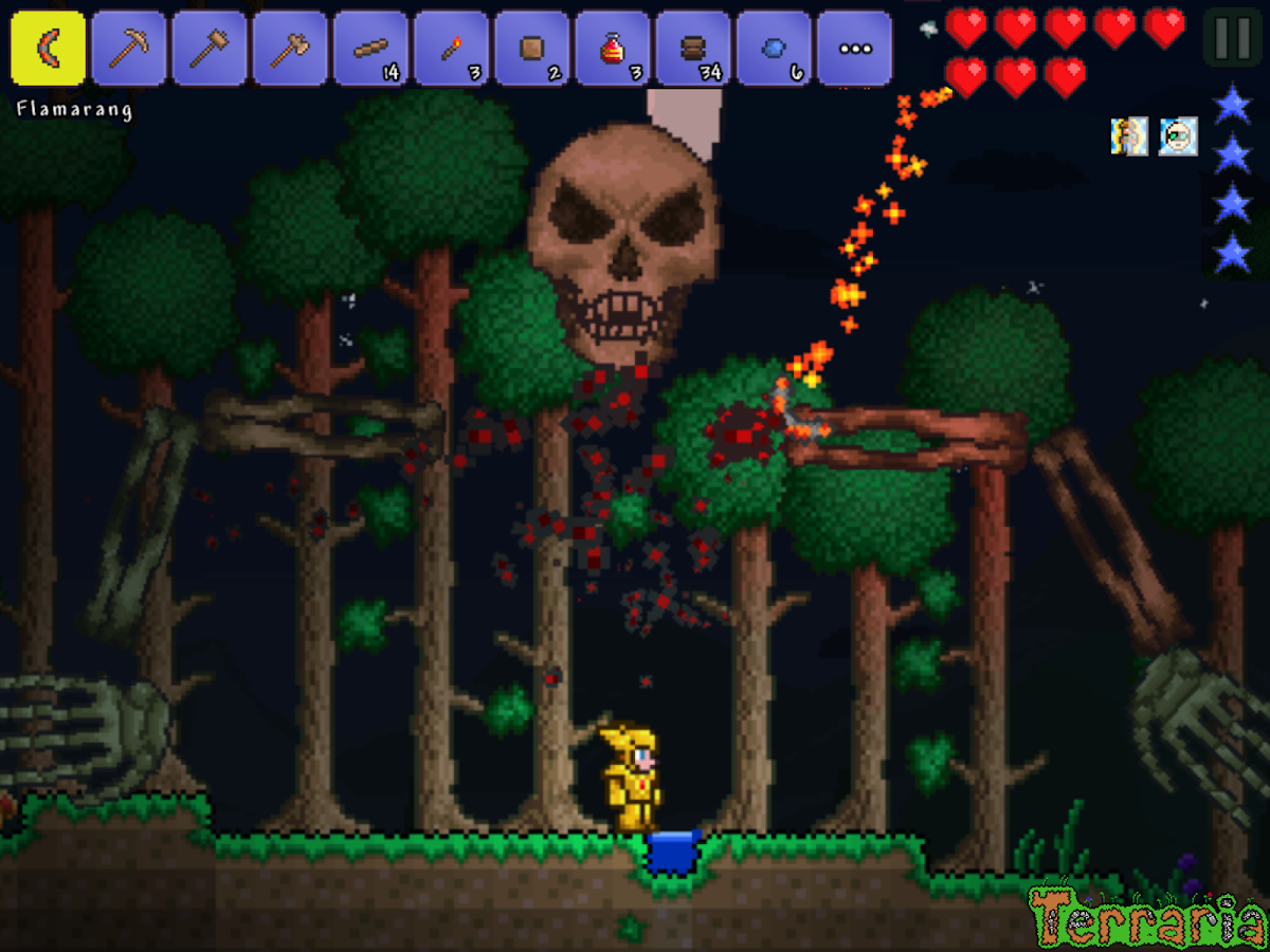 Terraria. Screenshot 9
