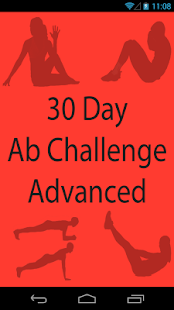 30 Day Abs Challenge Advanced - screenshot