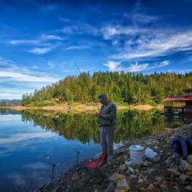 Lokve lake by Stanislav Horacek - Landscapes Waterscapes