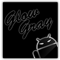 GOKeyboard Theme Glow Gray icon
