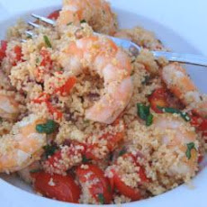 Warm Prawn And Couscous Salad