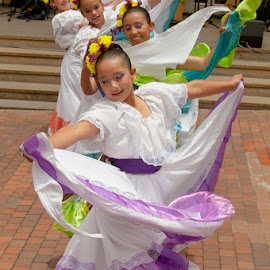 Dancers Bogota by Keith Reling - Babies & Children Children Candids ( traditional dancers, bogota colombia )