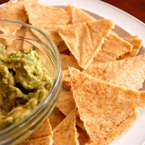 Homemade Paleo Tortilla Chips