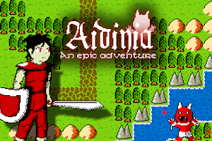 Screenshot of Aidinia • 8-bit RPG