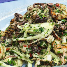 Seafood, Fennel, and Lime Salad from 'Ottolenghi'