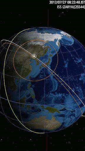 Astroid Sat beta - 人工衛星軌道3D