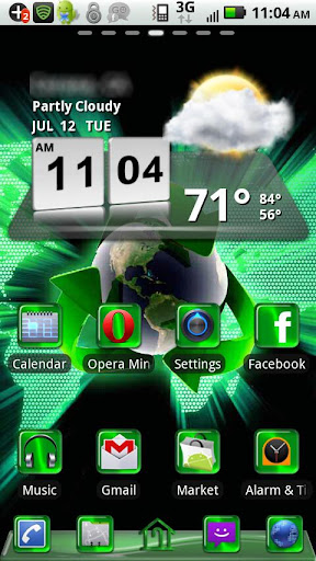 Recycle Green Theme