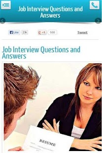 Job Interview Q and As - screenshot