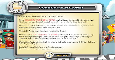 Screenshot of Super Soccer Star 2013