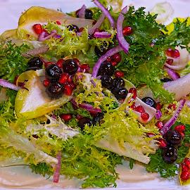 Salad by Sandy Friedkin - Food & Drink Fruits & Vegetables