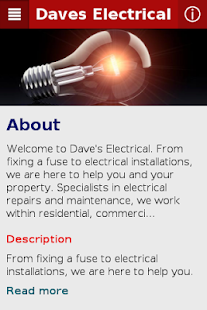 Daves Electrical - screenshot