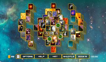 Screenshot of Mahjong Galaxy Space Lite