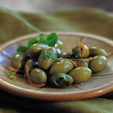 Olives with Orange and Marjoram