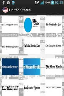 International Newspapers - screenshot