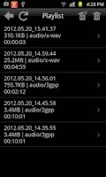 Screenshot of Legendary Voice Recorder Lite