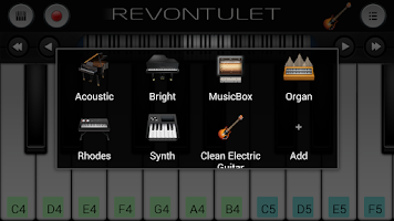 Screenshot of Clean Electric Guitar Plugin