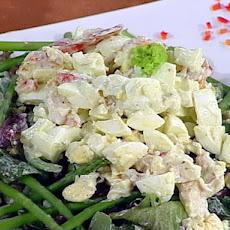 Egg and Lobster Salad with Homemade Tarragon Mayonnaise