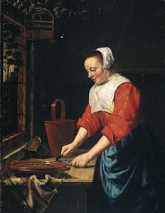 RIJKS: attributed to Willem van Odekercken: painting 1677