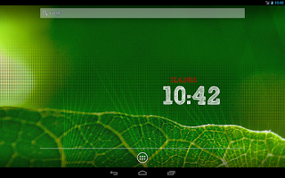 Screenshot of ClockQ - Digital Clock Widget
