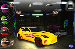 Screenshot of Tune Your Car 3D