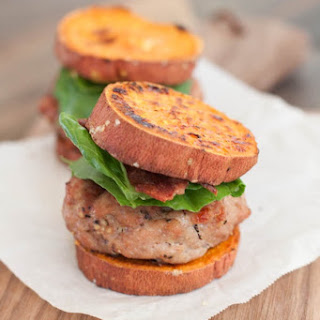 Sweet Potato Turkey Burger Sliders